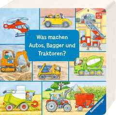 What Do Cars, Diggers and Tractors Do? - image 2 - Click to Zoom