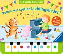 Komm, wir spielen Lieblingslieder! Mein erstes Klavierbuch - Bild 1 - Klicken zum Vergößern