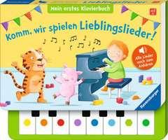 Komm, wir spielen Lieblingslieder! Mein erstes Klavierbuch - Bild 2 - Klicken zum Vergößern