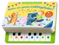 Komm, wir spielen Lieblingslieder! Mein erstes Klavierbuch - Bild 4 - Klicken zum Vergößern