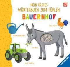 Mein erstes Wörterbuch zum Fühlen: Bauernhof - image 1 - Click to Zoom