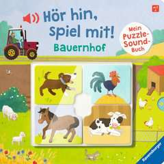 Hör hin, spiel mit! Mein Puzzle-Soundbuch: Bauernhof - image 1 - Click to Zoom