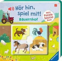 Hör hin, spiel mit! Mein Puzzle-Soundbuch: Bauernhof - image 2 - Click to Zoom