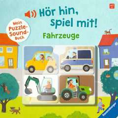Hör hin, spiel mit! Mein Puzzle-Soundbuch: Fahrzeuge - Bild 1 - Klicken zum Vergößern