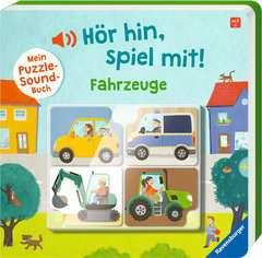 Hör hin, spiel mit! Mein Puzzle-Soundbuch: Fahrzeuge - Bild 2 - Klicken zum Vergößern