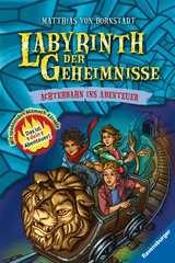Labyrinth der Geheimnisse 1: Achterbahn ins Abenteuer - Bild 1 - Klicken zum Vergößern