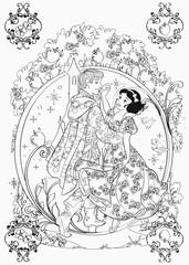 Disney kreativ: Die größten Disney Klassiker -  100 Motive zum Ausmalen - Bild 4 - Klicken zum Vergößern