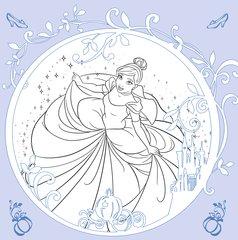 Disney kreativ: Disney Prinzessin - Zauberhafte Motive zum Ausmalen - Bild 5 - Klicken zum Vergößern