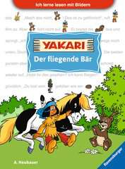 Ich lerne lesen mit Bildern: Yakari Der fliegende Bär - Bild 1 - Klicken zum Vergößern
