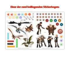 Mein Stickerspaß Dreamworks Dragons: Vorschulrätsel - Bild 6 - Klicken zum Vergößern
