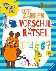 Mein Sticker Spaß Die Maus: Erste Zahlen Vorschulrätsel - Bild 1 - Klicken zum Vergößern