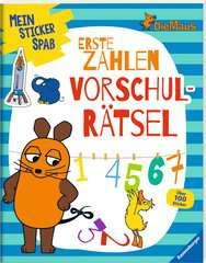 Mein Sticker Spaß Die Maus: Erste Zahlen Vorschulrätsel - Bild 2 - Klicken zum Vergößern
