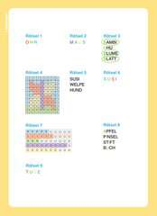 Disney Classics: ABC-Rätsel zum Lesenlernen - Bild 5 - Klicken zum Vergößern