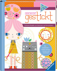 Geschickt gestickt Malen und Basteln;Bastel- und Malbücher - Bild 2 - Ravensburger