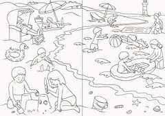 Mein superdickes Ferienmalbuch - Bild 4 - Klicken zum Vergößern