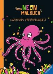 Mein Neon-Malbuch: Leuchtende Unterwasserwelt - Bild 1 - Klicken zum Vergößern