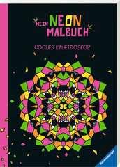 Mein Neon-Malbuch: Cooles Kaleidoskop - Bild 2 - Klicken zum Vergößern