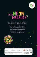 Mein Neon-Malbuch: Cooles Kaleidoskop - Bild 3 - Klicken zum Vergößern