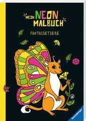 Mein Neon-Malbuch: Fantasietiere - Bild 2 - Klicken zum Vergößern