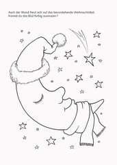 Malen - Rätseln - Basteln: Weihnachten - Bild 4 - Klicken zum Vergößern