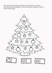 Malen - Rätseln - Basteln: Weihnachten - Bild 5 - Klicken zum Vergößern
