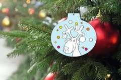 Mein Weihnachtskugel-Malbuch: Frohe Weihnachten - Bild 7 - Klicken zum Vergößern