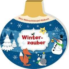 Mein Weihnachtskugel-Malbuch: Winterzauber - Bild 2 - Klicken zum Vergößern
