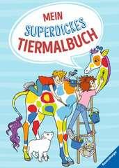 Mein superdickes Tiermalbuch - Bild 1 - Klicken zum Vergößern
