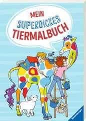 Mein superdickes Tiermalbuch - Bild 2 - Klicken zum Vergößern