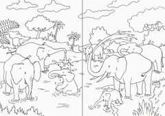 Mein superdickes Tiermalbuch - Bild 4 - Klicken zum Vergößern
