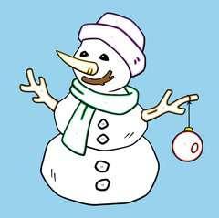 Malen nach Zahlen junior: Weihnachten - Bild 4 - Klicken zum Vergößern