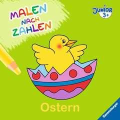 Malen nach Zahlen junior: Ostern - Bild 1 - Klicken zum Vergößern