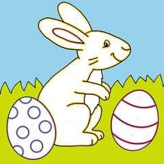 Malen nach Zahlen junior: Ostern - Bild 4 - Klicken zum Vergößern