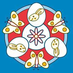 Malen nach Zahlen junior: Ostern - Bild 5 - Klicken zum Vergößern