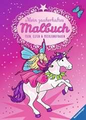 Mein zauberhaftes Malbuch: Feen, Elfen und Meerjungfrauen - Bild 1 - Klicken zum Vergößern