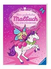 Mein zauberhaftes Malbuch: Feen, Elfen und Meerjungfrauen - Bild 2 - Klicken zum Vergößern