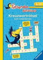 Kreuzworträtsel zum Lesenlernen (3. Lesestufe) - Bild 1 - Klicken zum Vergößern