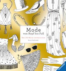 Mode von Kopf bis Fuß Malen und Basteln;Bastel- und Malbücher - Bild 1 - Ravensburger
