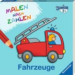 Malen nach Zahlen junior: Fahrzeuge - Bild 2 - Klicken zum Vergößern