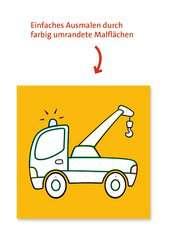 Malen nach Zahlen junior: Fahrzeuge - Bild 4 - Klicken zum Vergößern