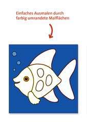 Malen nach Zahlen junior: Tiere - Bild 5 - Klicken zum Vergößern