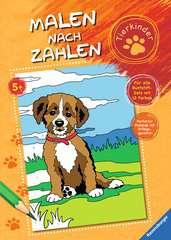 Malen nach Zahlen: Tierkinder - Bild 1 - Klicken zum Vergößern