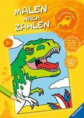 Malen nach Zahlen: Dinosaurier - Bild 1 - Klicken zum Vergößern