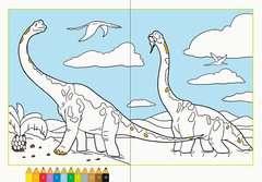 Malen nach Zahlen: Dinosaurier - Bild 3 - Klicken zum Vergößern