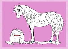 Malen nach Zahlen: Pferde und Ponys - Bild 3 - Klicken zum Vergößern