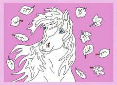 Malen nach Zahlen: Pferde und Ponys - Bild 5 - Klicken zum Vergößern