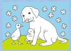 Malen nach Zahlen: Tierfreunde - Bild 5 - Klicken zum Vergößern