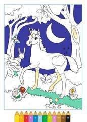 Malen nach Zahlen: Zauberwald - Bild 4 - Klicken zum Vergößern