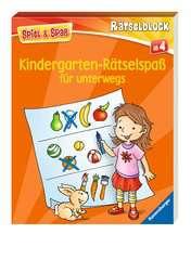 Kindergarten-Rätselspaß für unterwegs - Bild 2 - Klicken zum Vergößern