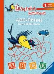 ABC-Rätsel zum Lesenlernen (1. Lesestufe) - Bild 1 - Klicken zum Vergößern